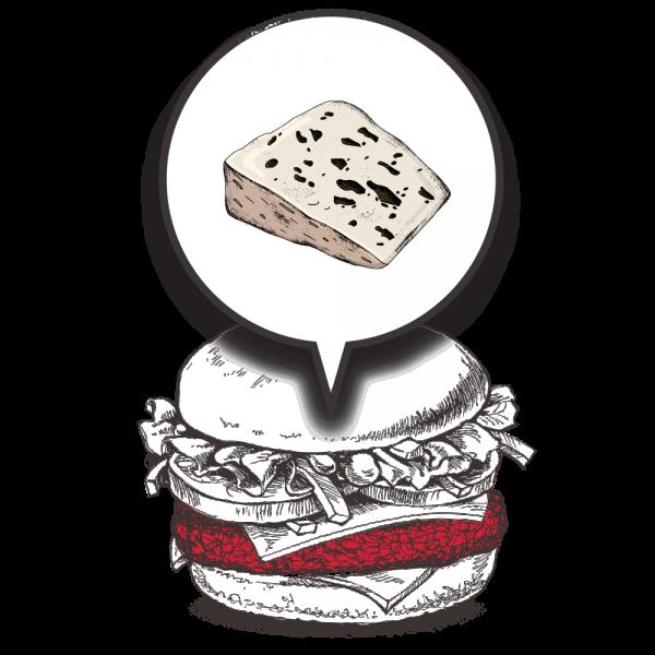 Grubers Burgers | Riccardo Giraudi | Restaurant | Cheesegrubers Roquefort