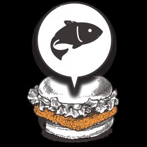 Grubers Burgers | Riccardo Giraudi | Restaurant | Cheesegrubers Fish