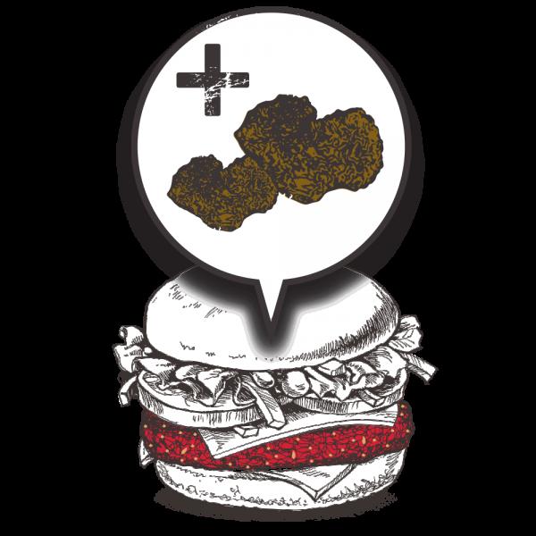 Grubers Burgers | Riccardo Giraudi | Restaurant | Cheesegrubers Truffle