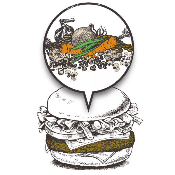Grubers Burgers | Riccardo Giraudi | Restaurant | Cheesegrubers Veggie