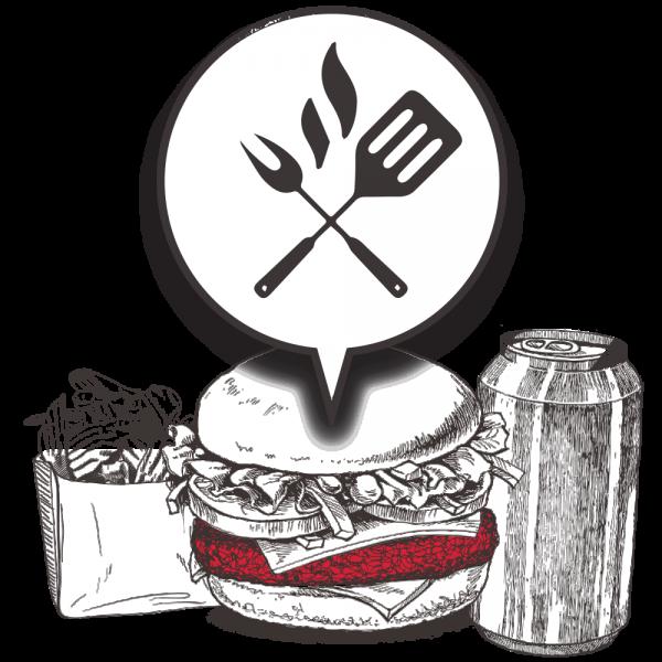 Grubers Burgers | Riccardo Giraudi | Restaurant | Formule Cheesegrubers Classic Grilled